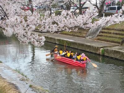 Eボート桜クルーズ2016を実施いたしました。
