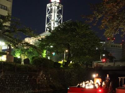 【光と音の祭典】 松川ライトアップ民謡クルーズ